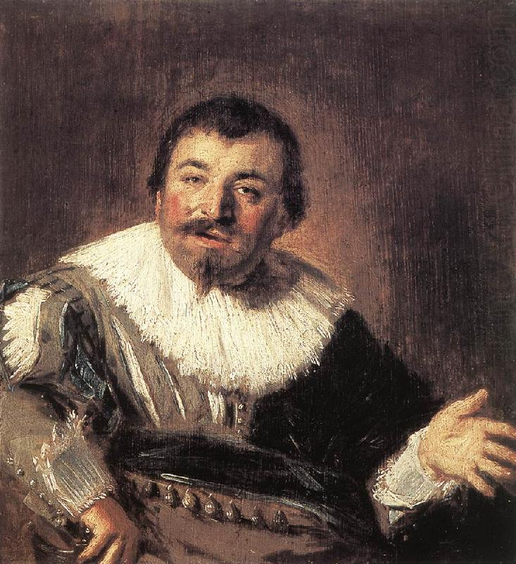 HALS, Frans Portrait of a Man Holding a Book g